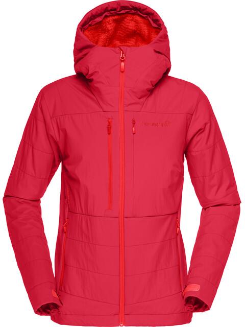 """Norrøna W's Lofoten Powershield Pro Alpha Jacket Rebel Red"""